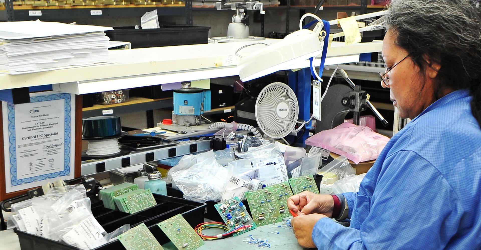 Engineered Magnetics - Aerospace Component Manufacturer: Facility Slide 10