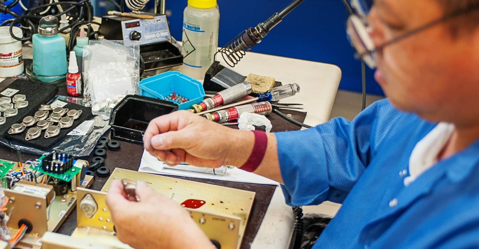 Engineered Magnetics - Aerospace Component Manufacturer: Facility Slide 3