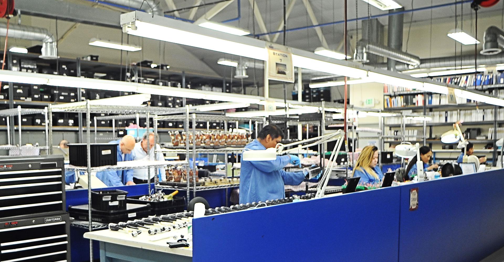 Engineered Magnetics - Aerospace Component Manufacturer: Facility Slide 5